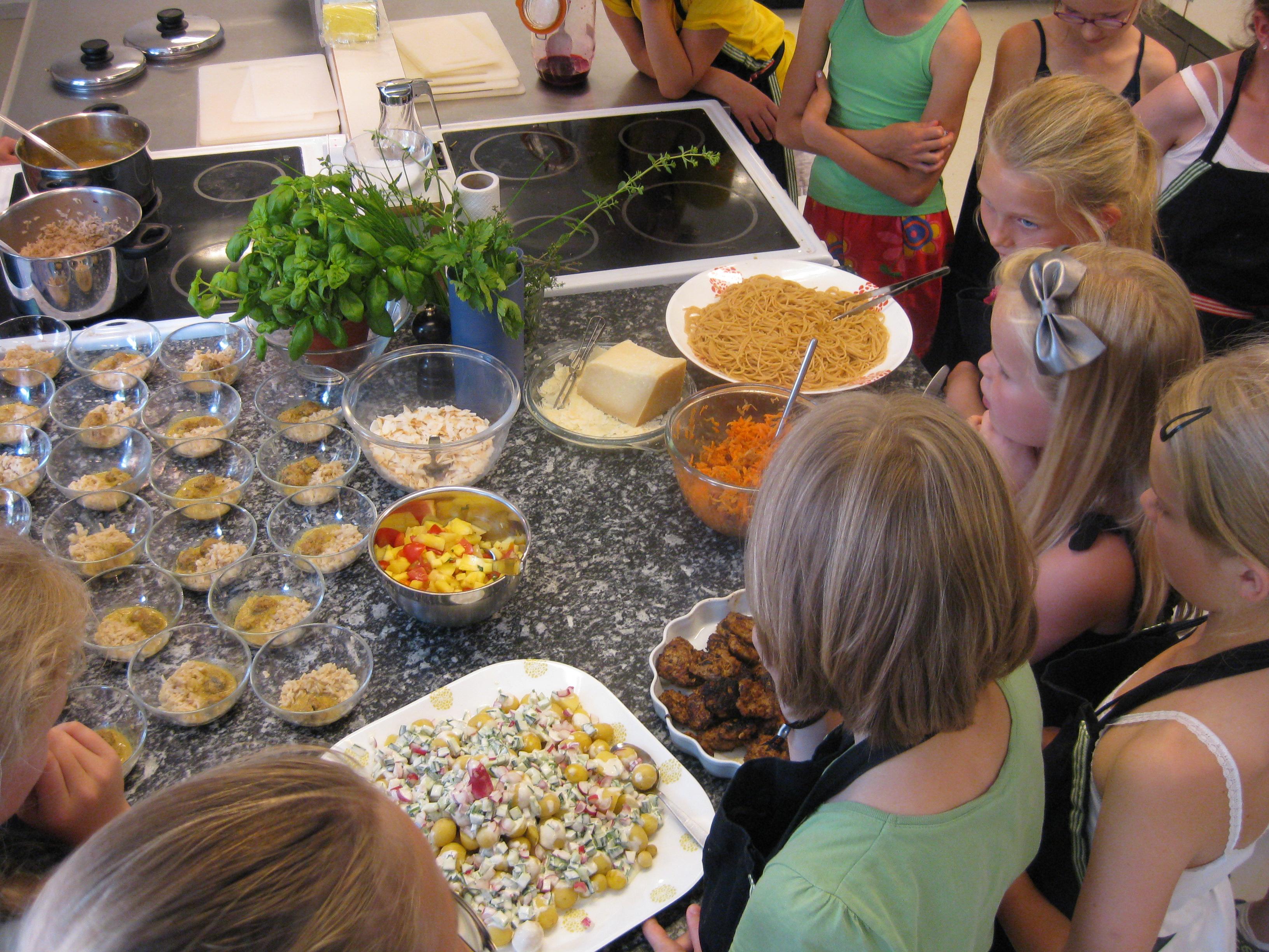 aftensmad til børn på 9 år